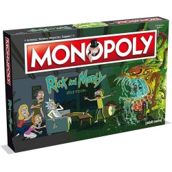 MONOPOLY RICK AND MORTY EDITION VERSION FR - Jeux de Société au prix de 39,95 €