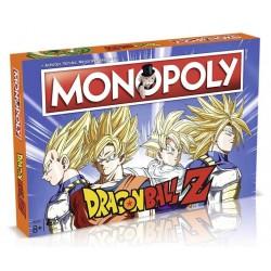 MONOPOLY DRAGON BALL Z VERSION FR - Jeux de Société au prix de 39,95€