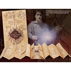 CARTE DU MARAUDEUR HARRY POTTER NOBLE COLLECTION TAILLE REELLE 39 X 184 CM - Autres Goodies au prix de 39,95 €
