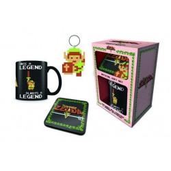 COFFRET ZELDA (MUG + SOUS VERRE + PORTE CLES) - Autres Goodies au prix de 14,95€
