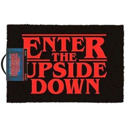 PAILLASSON STRANGER THINGS UPSIDE DOWN 40 X 60 CM - Autres Goodies au prix de 24,95 €