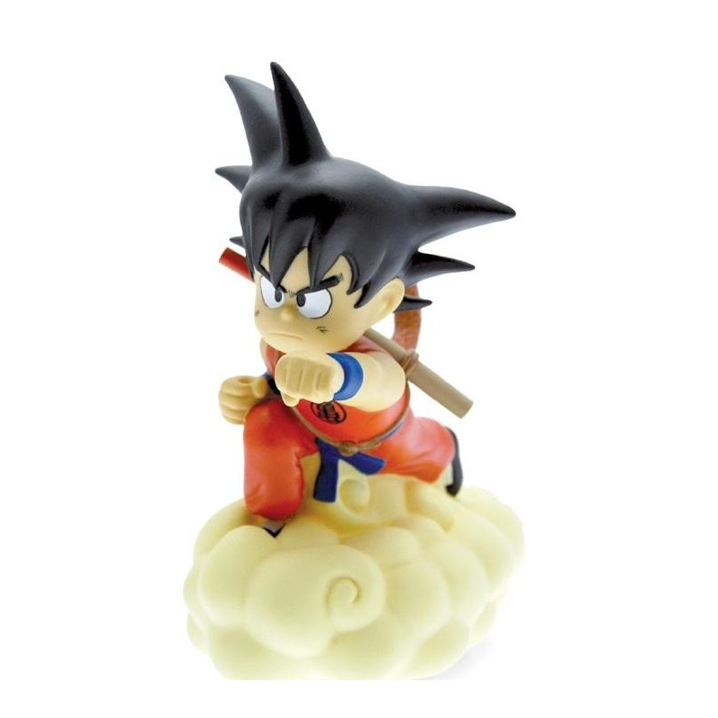 TIRELIRE DRAGON BALL Z SON GOKU SUR SON NUAGE 18 CM - Autres Goodies au prix de 27,95€