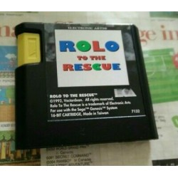 MD ROLO TO THE RESCUE (LOOSE) - Jeux Mega Drive au prix de 6,95 €