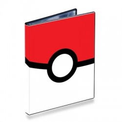 PORTOFOLIO A5 80 CARTES POKEMON POKEBALL - Cartes à collectionner ou jouer au prix de 12,95 €