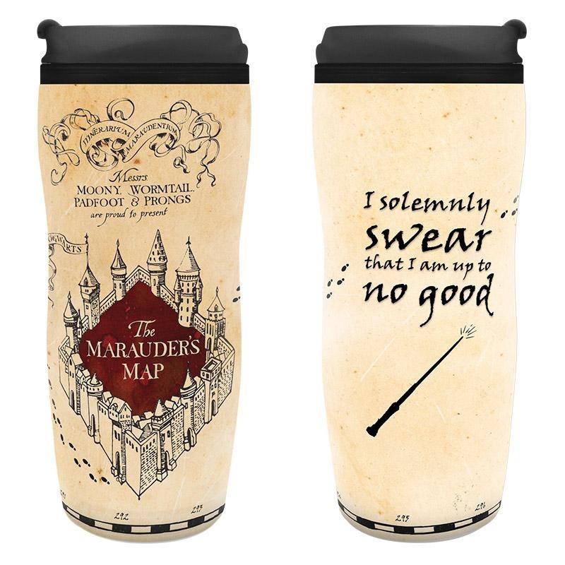 GOURDE HARRY POTTER MARAUDER MAP 355ML - Mugs au prix de 11,95€