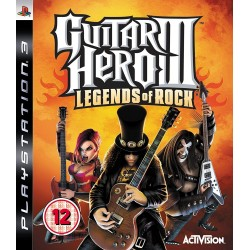 PS3 GUITAR HERO 3 LEGENDS OF ROCK - Jeux PS3 au prix de 9,95€