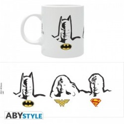 MUG BATMAN SUPERMAN WONDERWOMAN 320ML - Mugs au prix de 9,95€