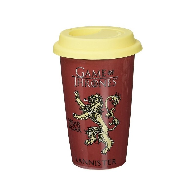 MUG DE VOYAGE GAME OF THRONES LANNISTER 340ML - Mugs au prix de 14,95 €