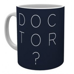 MUG DOCTOR WHO TYPO 325ML - Mugs au prix de 9,95€