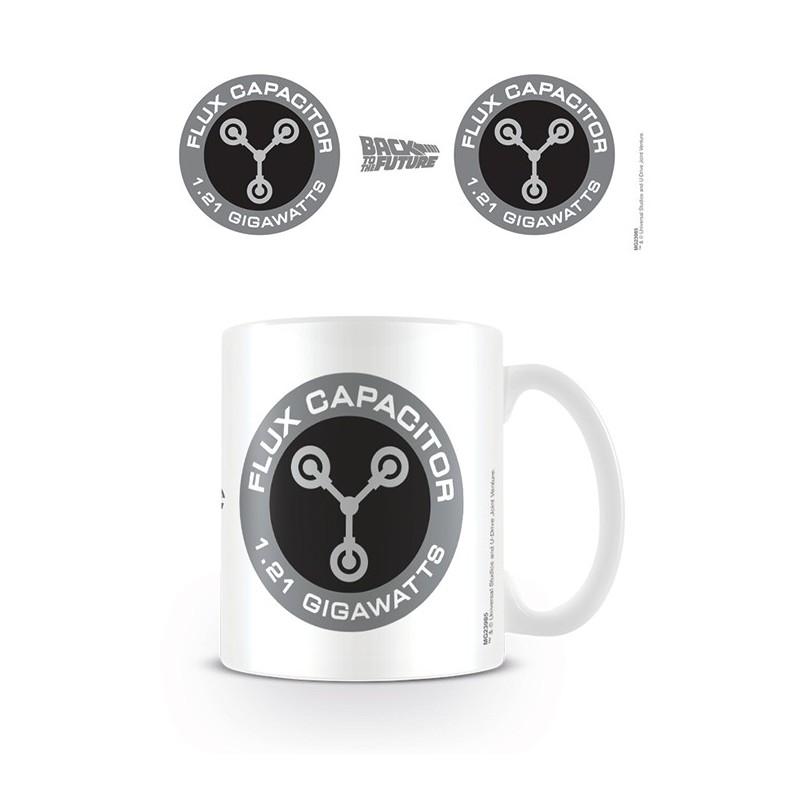 MUG RETOURS VERS LE FUTUR FLUX CAPACITOR 300ML - Mugs au prix de 9,95€