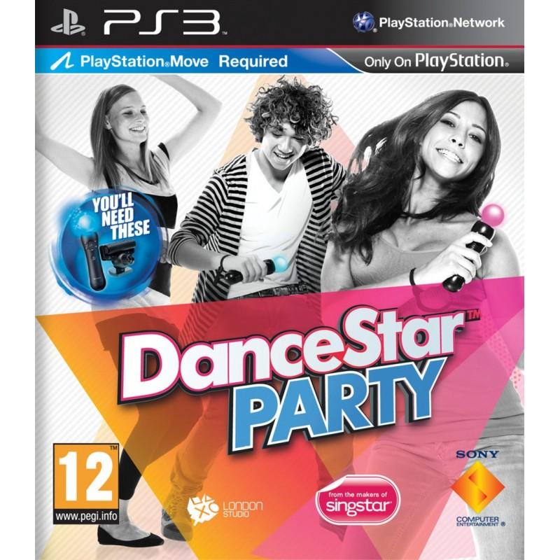 PS3 DANCESTAR PARTY - Jeux PS3 au prix de 4,95€