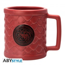 MUG GAME OF THRONES 3D TARGARYEN 500ML - Mugs au prix de 14,95 €