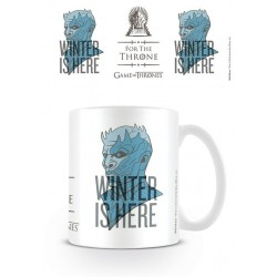 MUG GAME OF THRONES WINTER IS HERE 315ML - Mugs au prix de 9,95 €