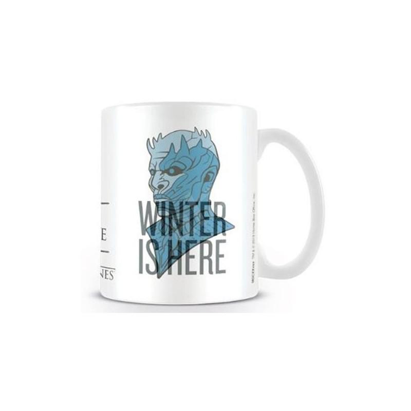 MUG GAME OF THRONES WINTER IS HERE 315ML - Mugs au prix de 9,95€