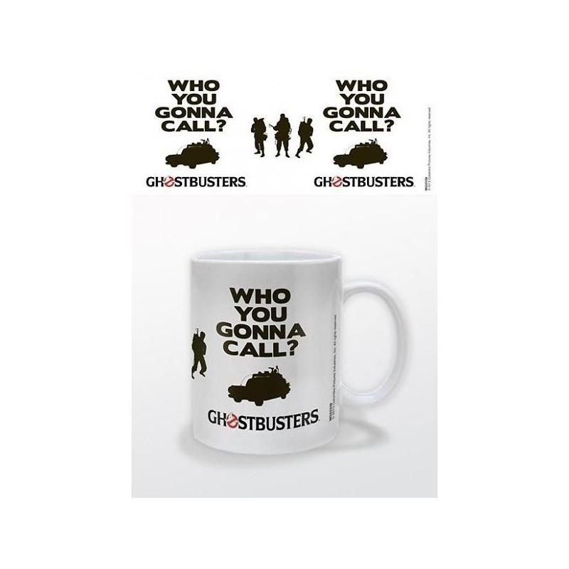 MUG GHOSTBUSTERS WHO YOU GONNA CALL 300ML - Mugs au prix de 9,95€