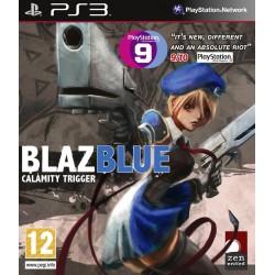 PS3 BLAZBLUE CALAMITY TRIGGER - Jeux PS3 au prix de 6,95€
