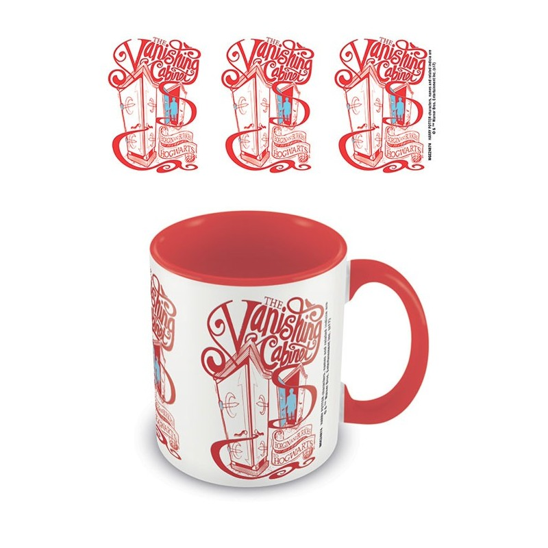 MUG HARRY POTTER CABINET RED 315ML - Mugs au prix de 9,95€