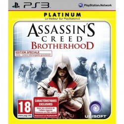 PS3 ASSASSIN S CREED BROTHERHOOD (PLATINUM) - Jeux PS3 au prix de 5,95 €