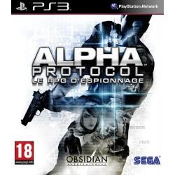 PS3 ALPHA PROTOCOL - Jeux PS3 au prix de 5,95€