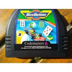 MD MICRO MACHINES (LOOSE) - Jeux Mega Drive au prix de 6,95€