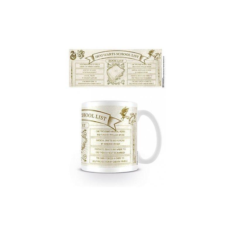 MUG HARRY POTTER SCHOOL LIST 300ML - Mugs au prix de 9,95€