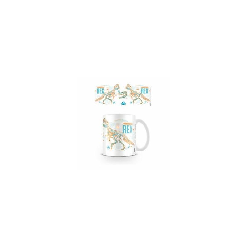 MUG JURASSIC WORLD T-REX STATS 325ML - Mugs au prix de 9,95€