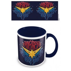 MUG MARVEL CAPTAIN MARVEL HIGHER FURTHER FASTER 315ML - Mugs au prix de 9,95 €