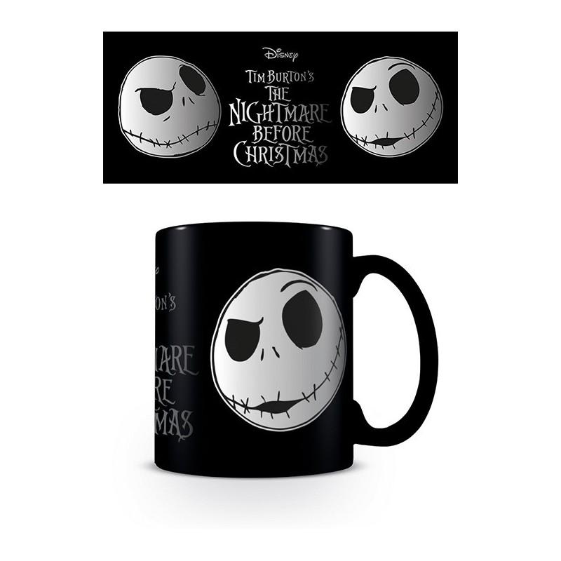 MUG NIGHTMARE BEFORE CHRISTMAS JACK FACE 315ML - Mugs au prix de 9,95€