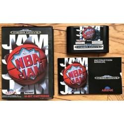 MD NBA JAM - Jeux Mega Drive au prix de 9,95€
