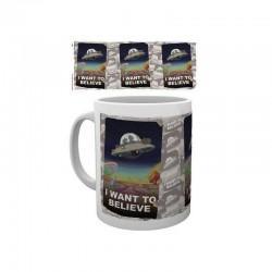 MUG RICK AND MORTY I WANT TO BELIEVE 325ML - Mugs au prix de 9,95€