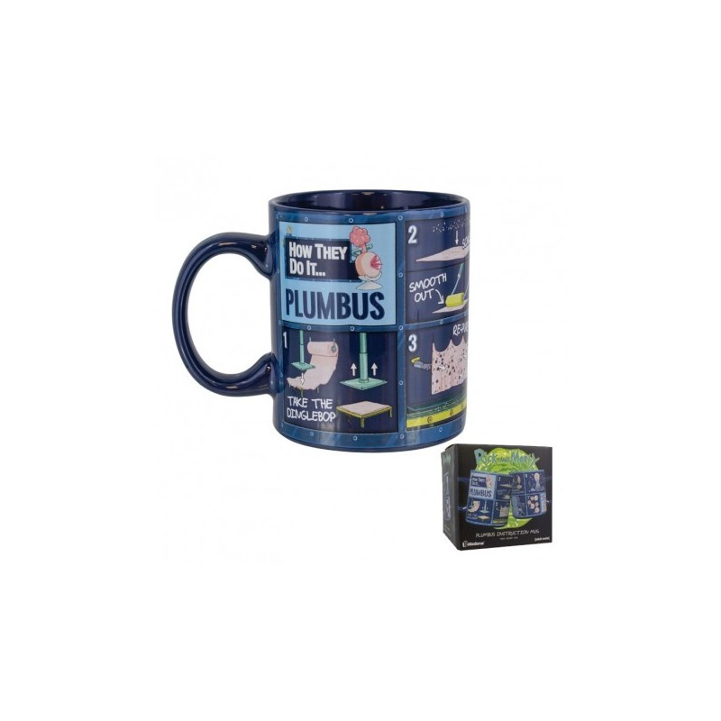 MUG RICK AND MORTY PLUMBUS 300ML - Mugs au prix de 9,95€