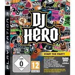 PS3 DJ HERO - Jeux PS3 au prix de 1,95€