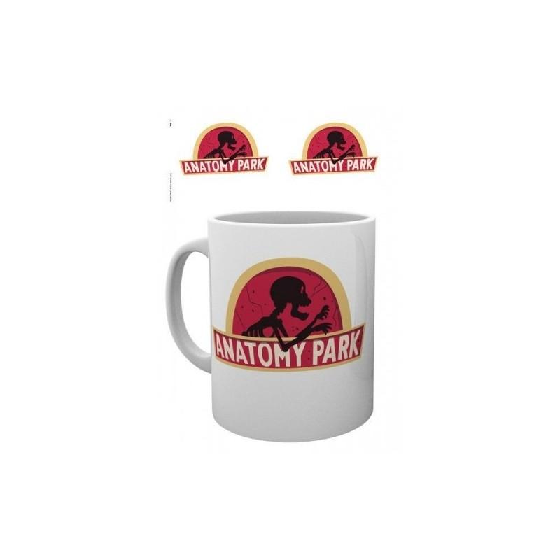 MUG RICK ET MORTY ANATOMY PARK 300ML - Mugs au prix de 9,95€