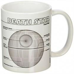 MUG STAR WARS DEATH STAR PLAN 300ML - Mugs au prix de 9,95€