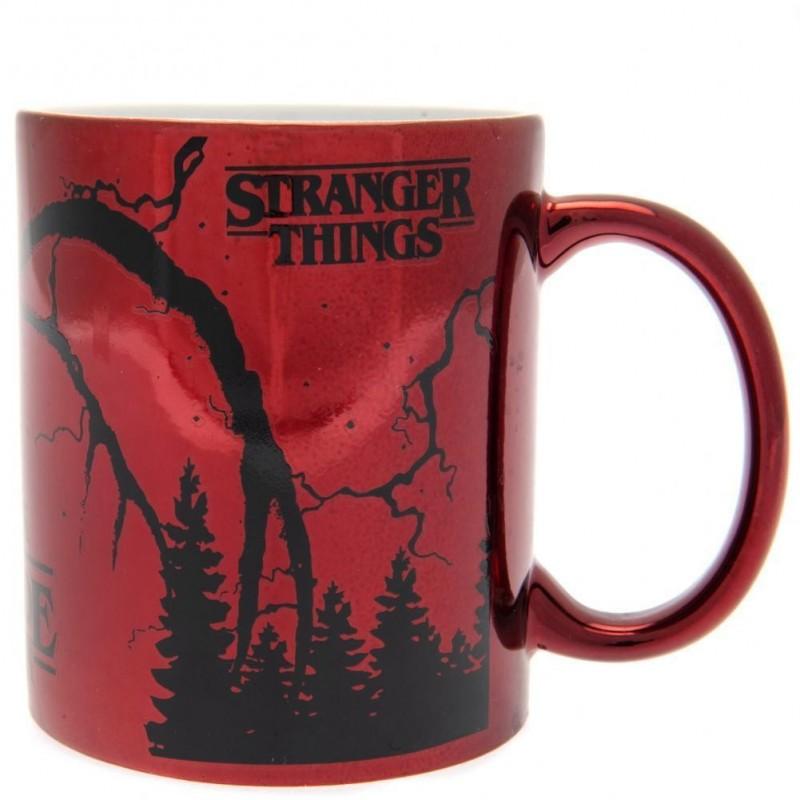 MUG STRANGER THINGS METALLIC MIND FLAYER 315ML - Mugs au prix de 9,95€