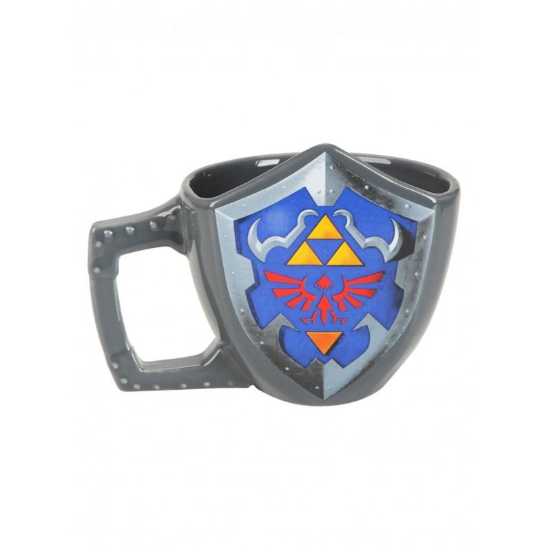 MUG ZELDA BOUCLIER 3D 600ML - Mugs au prix de 12,95€