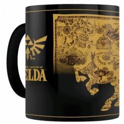 MUG THERMIQUE ZELDA MAP SILHOUETTE 315ML - Mugs au prix de 12,95€