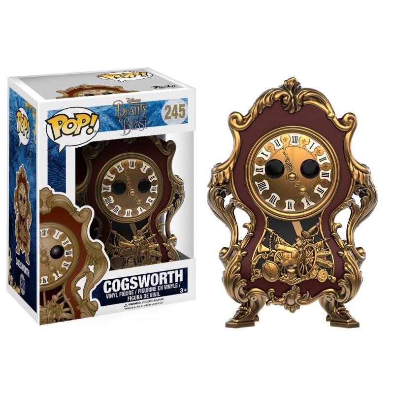 POP LA BELLE ET LA BETE 245 COGSWORTH - Figurines POP au prix de 14,95€