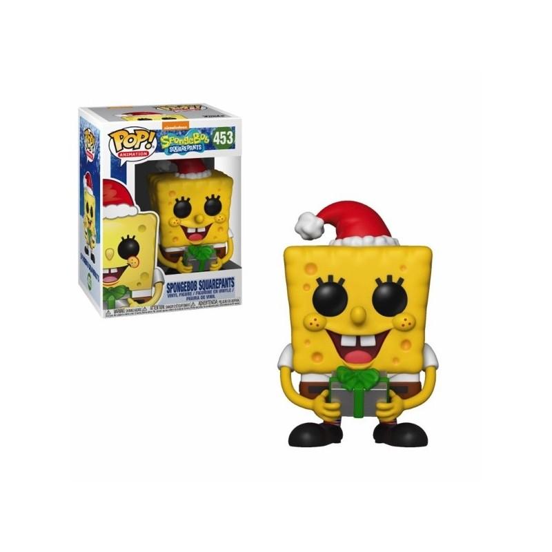 POP BOB L EPONGE 453 SPONGEBOB HOLIDAY - Figurines POP au prix de 14,95€