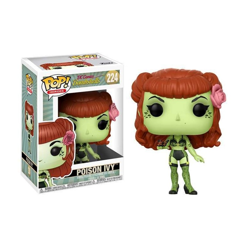 POP DC COMICS BOMBSHELLS 224 POISON IVY - Figurines POP au prix de 14,95 €