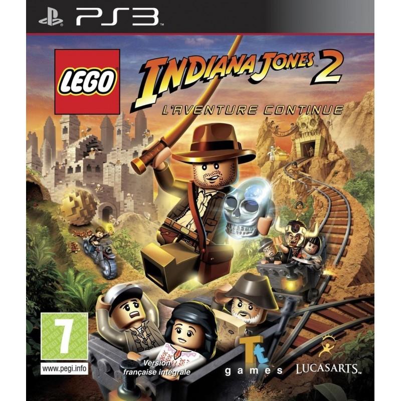 PS3 LEGO INDIANA JONES 2 - Jeux PS3 au prix de 9,95€