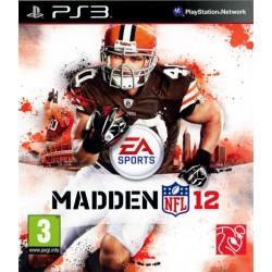 PS3 MADDEN 12 - Jeux PS3 au prix de 4,95€