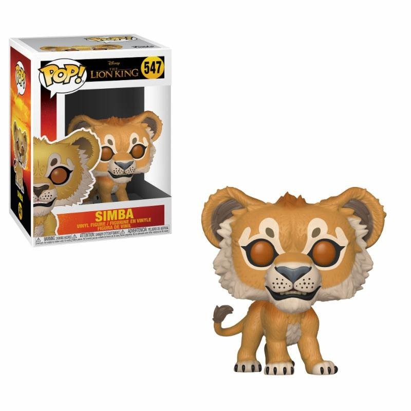 POP DISNEY LE ROI LION 547 SIMBA - Figurines POP au prix de 14,95 €