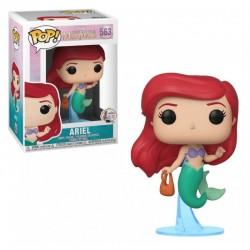POP DISNEY PETITE SIRENE 563 ARIEL AVEC UN SAC - Figurines POP au prix de 14,95€