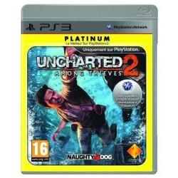 PS3 UNCHARTED 2 AMONG THIEVES (PLATINUM) - Jeux PS3 au prix de 4,95€