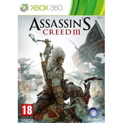 X360 ASSASSINS CREED III - Jeux Xbox 360 au prix de 6,95€