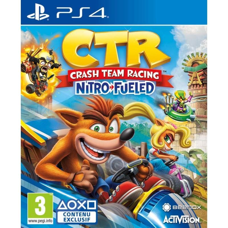 PS4 CRASH TEAM RACING - Jeux PS4 au prix de 39,95€