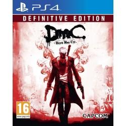 PS4 DMC DEVIL MAY CRY : DEFINITIVE EDITION OCC - Jeux PS4 au prix de 14,95€