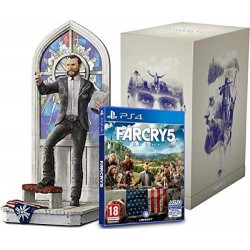 PS4 FAR CRY 5 EDITION COLLECTOR THE FATHER OCC - Jeux PS4 au prix de 59,95 €