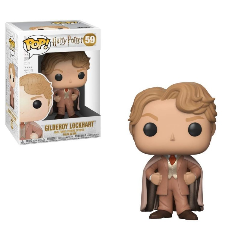 POP HARRY POTTER 59 GILDEROY LOCKHART - Figurines POP au prix de 14,95€